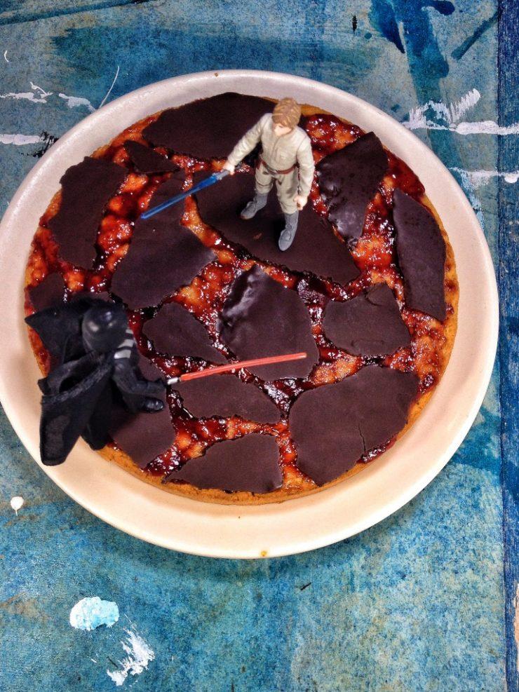 Star Wars Birthday Cake | Caramel Cake | Vie De La Vegan