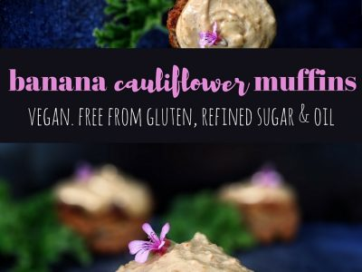 Banana Cauliflower Muffins