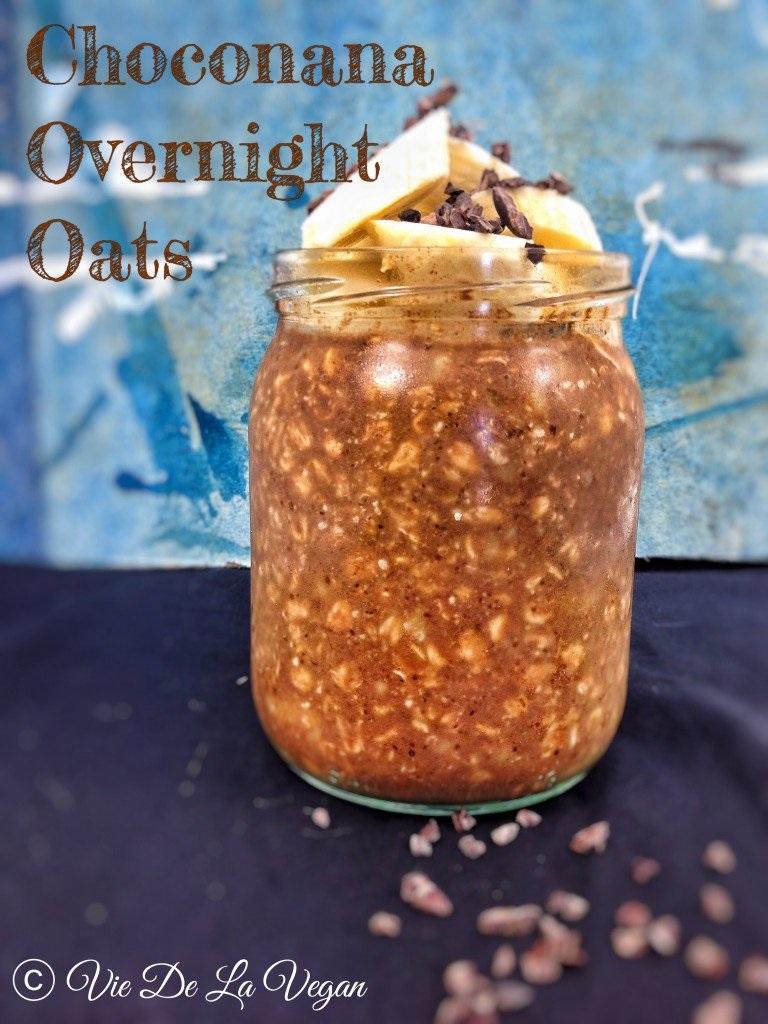Choconana Overnight Oats