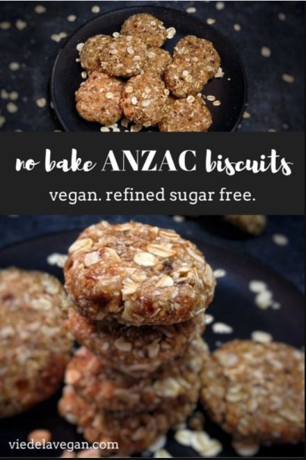 Raw ANZAC Biscuits