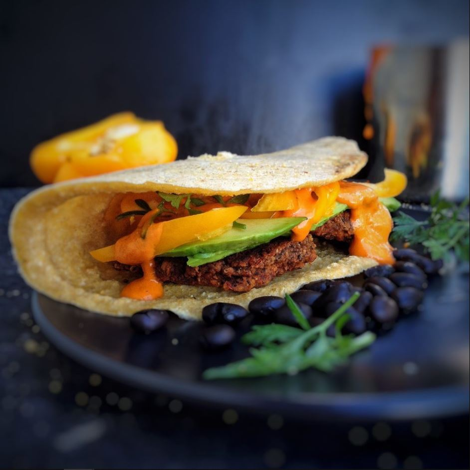 Spicy Mexican Burgers