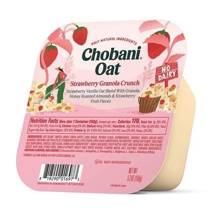 Chobani Oat Non-Dairy Yogurt