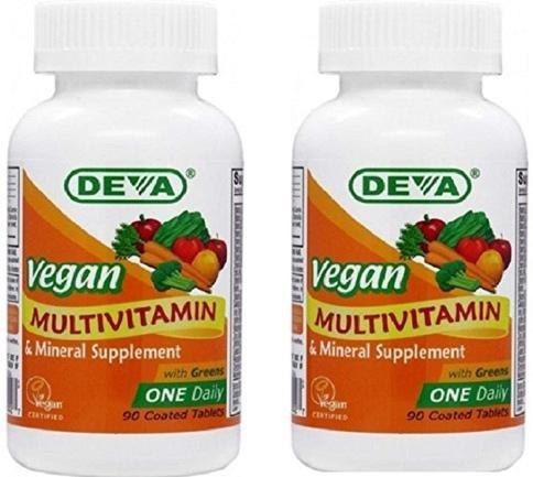 DEVA Vegan Multivitamins
