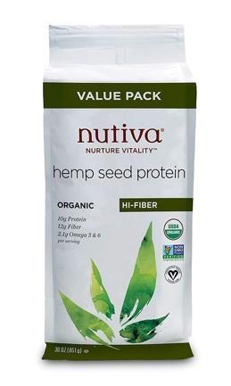 Nutiva Hemp Protein Hi Fiber