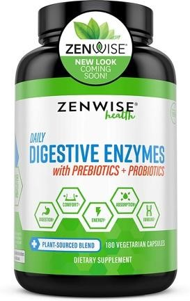 Zenwise Digestive Enzymes with Probiotics