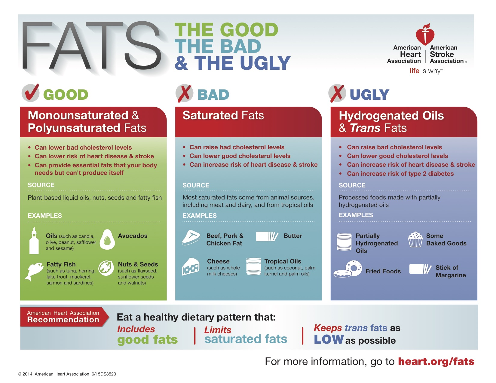 Differences in fats