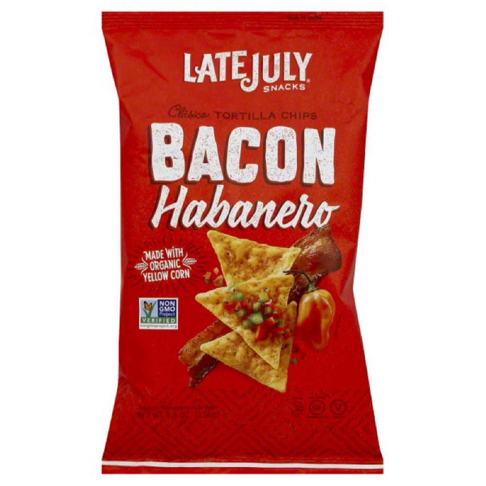 Late July Bacon Habanero Chips