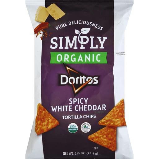 Spicy White Cheddar Tortilla Chips