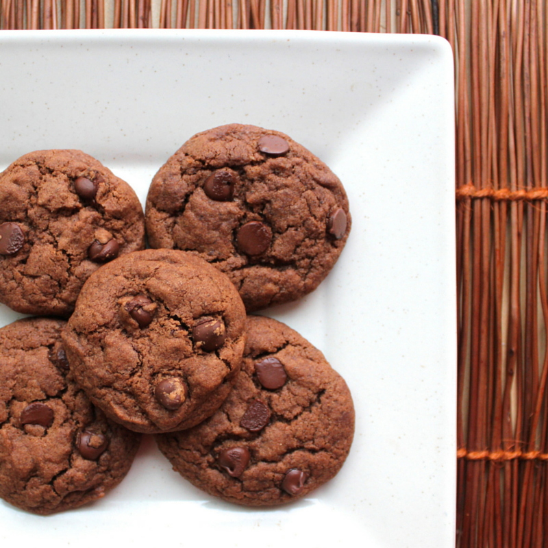 Espresso and Black Pepper Double Chocolate Cookies