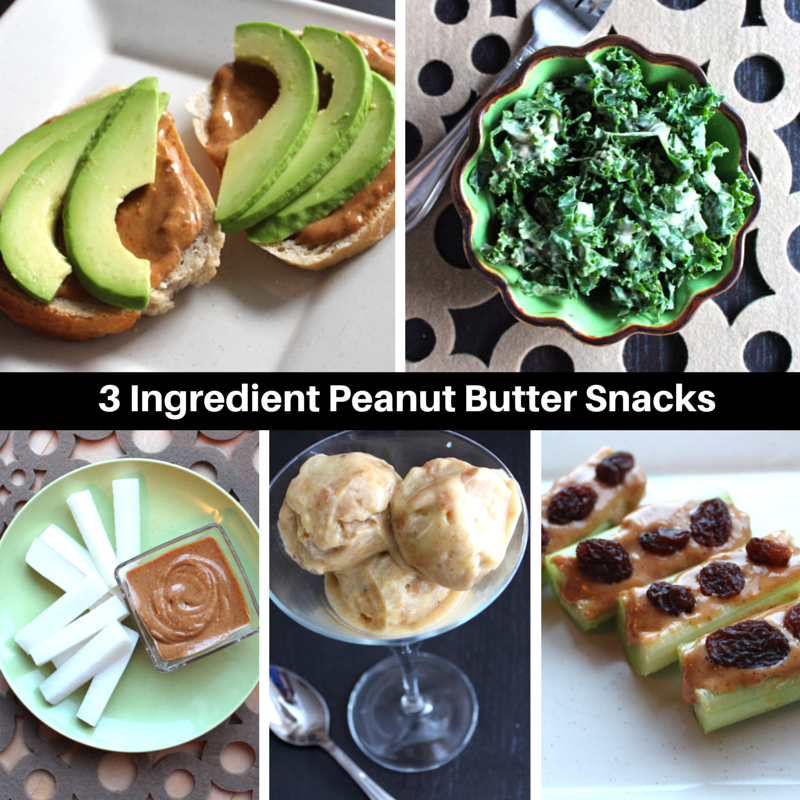 Five 3-Ingredient Peanut Butter Snacks
