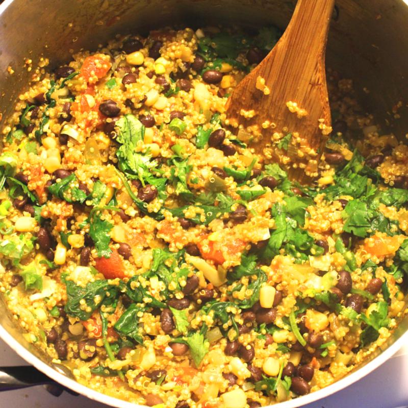 One-Pot Mexican Quinoa