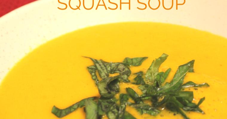 Thai Coconut Squash Soup