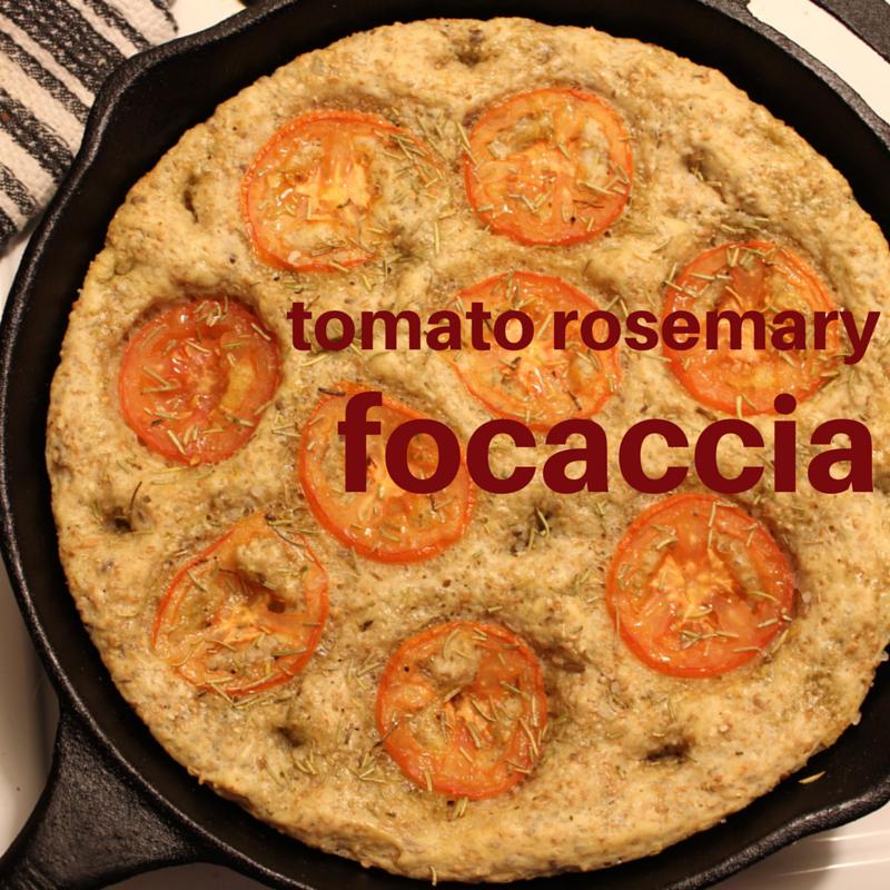 Multigrain Tomato Rosemary Focaccia