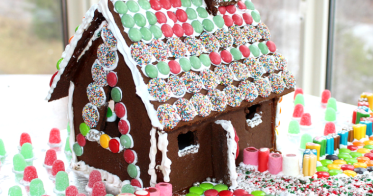 Vegan Gingerbread House Extravaganza