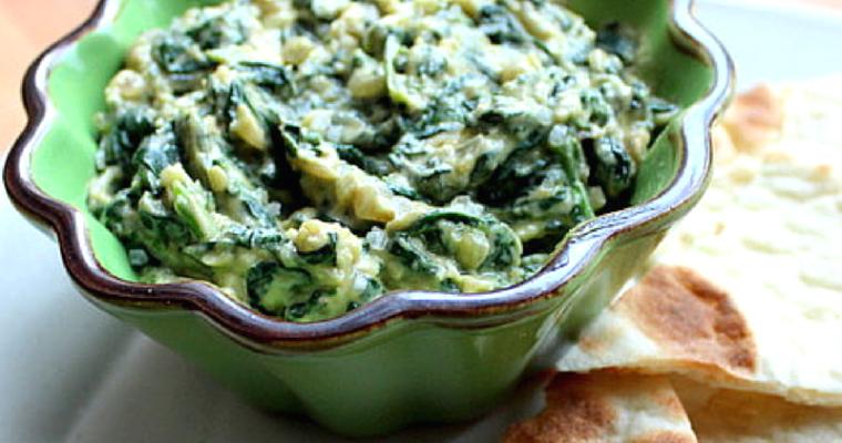 Rich and Creamy Spinach Avocado Dip