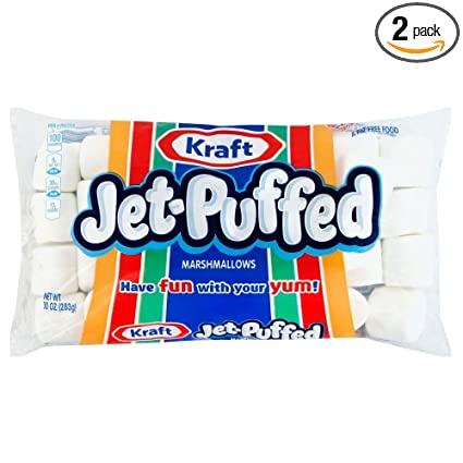 Jet-Puffed Kraft Marshmallows
