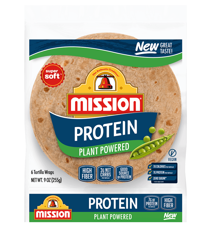 Plant Powered Mission Tortillas