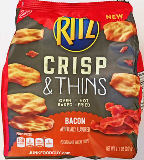 Ritz Bacon Crisps and Thins