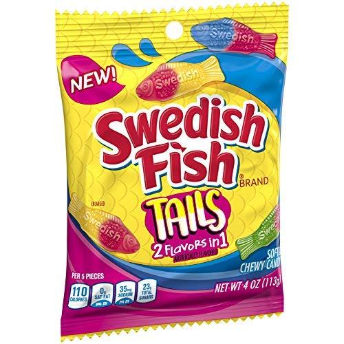 Swedish Fish Tails 2 in 1