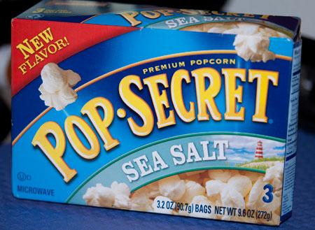 Pop Secret Sea Salt